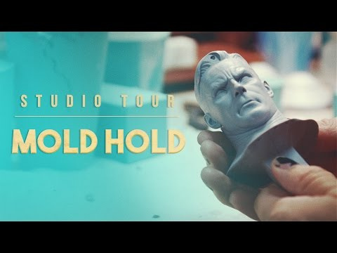 Sideshow Collectibles Studio Tour: Mold Hold (Part 4)