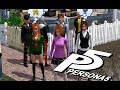 Persona 5 Opening in The Sims