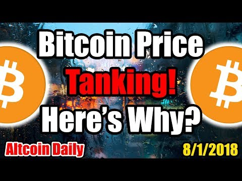 FORBES: The Bitcoin Price Is Tanking -- HERE'S WHY!? [Cryptocurrency Daily News]