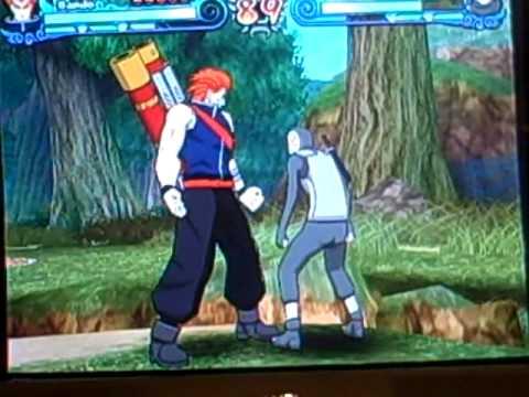 Naruto Shippuden Clash of Ninja Revolution 3: Bando Combo ...