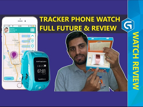 FULL FUTURE & REVIEW | SANTWATCH, THE TRACKER PHONE WATCH FOR KIDS