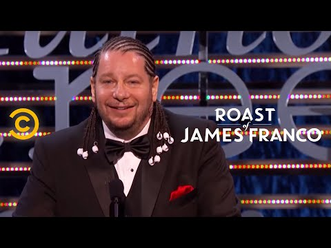 Roast of James Franco  Jeff Ross' Research Project  Uncensored