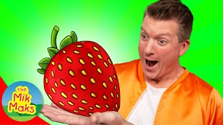 Something Yummy Fruit Song & More   Kids Songs and Nursery Rhymes   The Mik Maks
