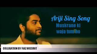 arijit singh - muskurane song lirik
