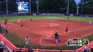 Auburn Softball vs Alabama Game 3 Highlights
