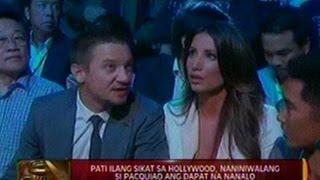 24 Oras: Pati ilang sikat sa hollywood, naniniwalang si Pacquiao ang dapat na nanalo