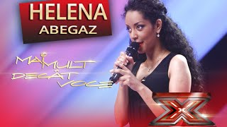 "Helena Abegaz - Jennifer Holiday - ""And I am telling you"" - X Factor"