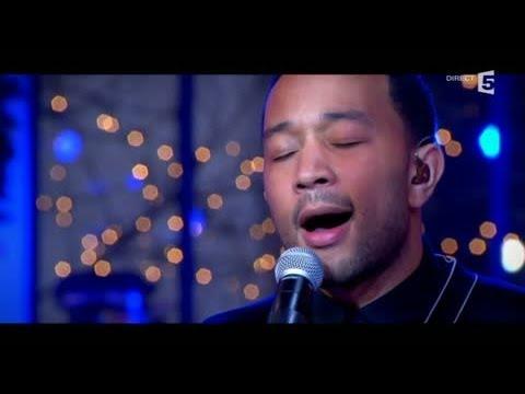 """John Legend """"All of Me"""" - C à vous - 11/03/2014"""
