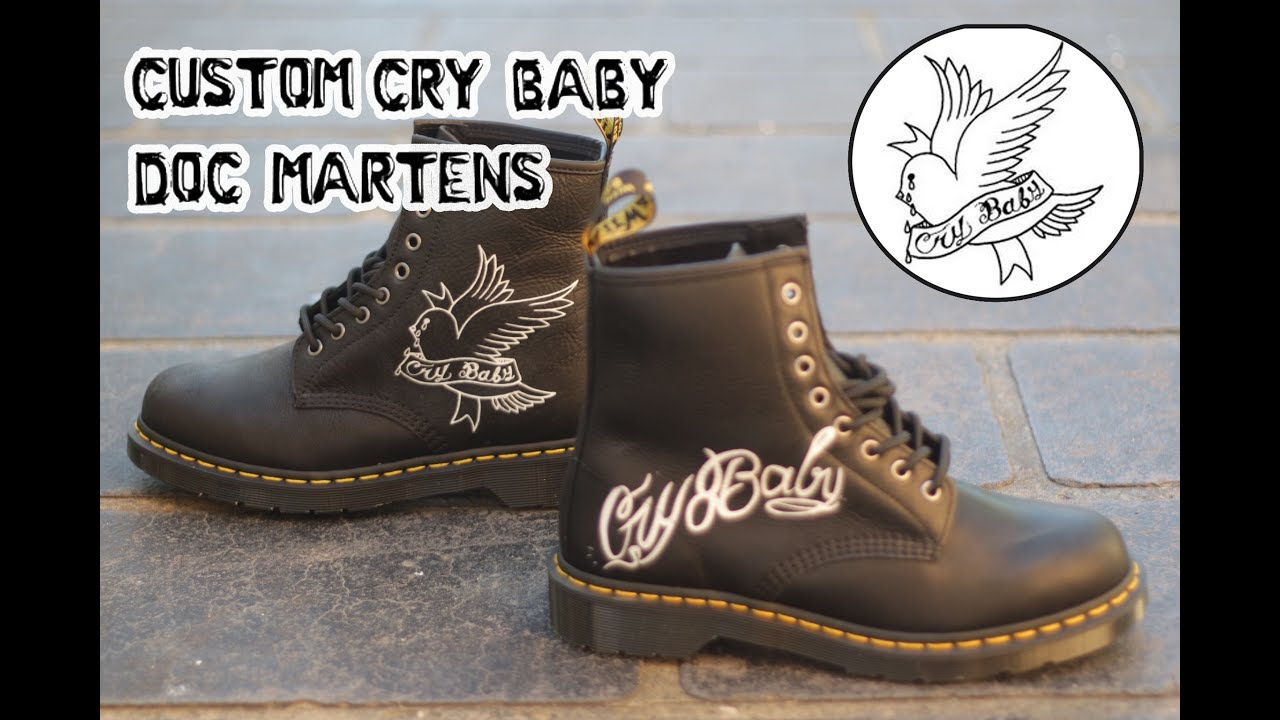 Lil Peep 'Cry Baby' Doc Martens By