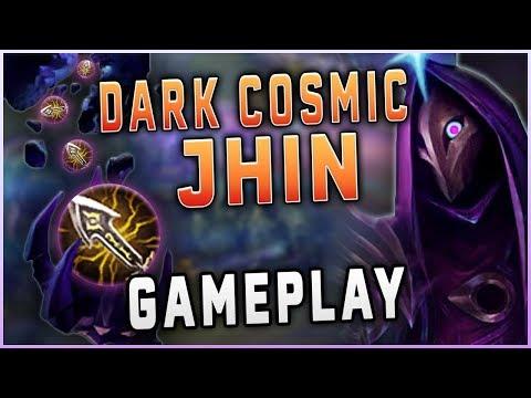 The stars align for Dark Cosmic Jhin's arrival! New Best Skin?