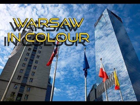 Warsaw - Skyscraper City in Colour