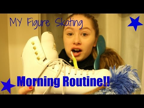 My Figure Skating Morning Routine!!||FigureSkatingFrenzy
