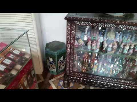 Antique Chinese Porcelain Dolls at Pinang Peranakan Mansion in Georgetown, Penang, Malaysia