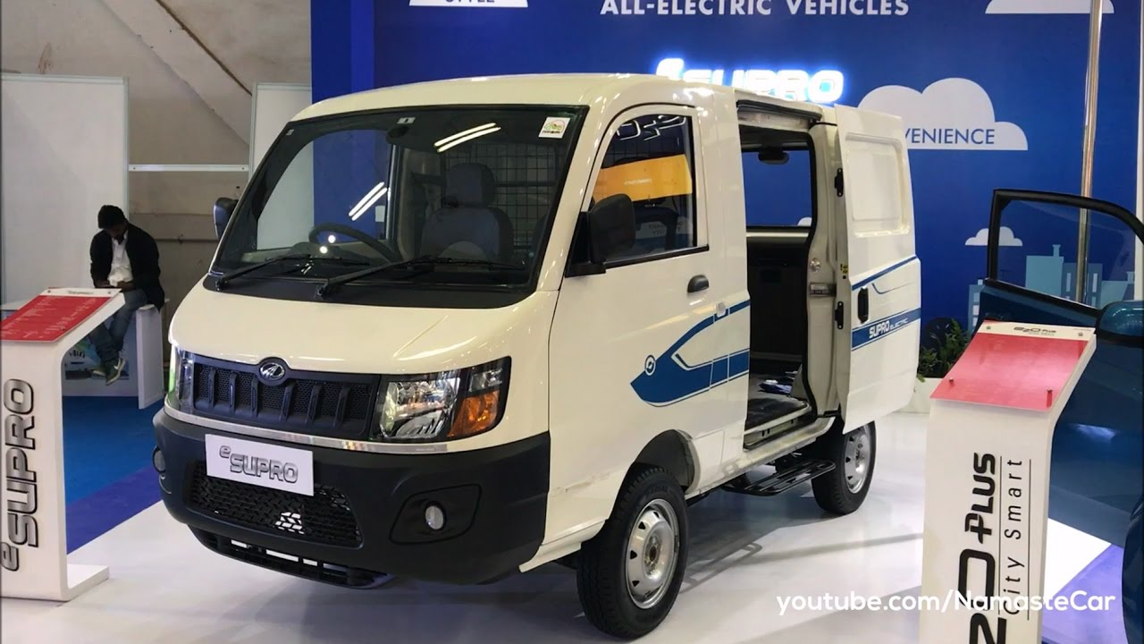Mahindra Esupro Cargo Van 2017 Real Life Review Youtube