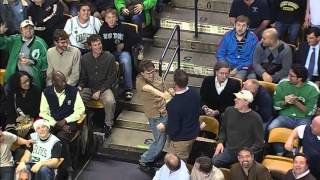 Bon Jovi fan breaks out dancing at a Celtics game