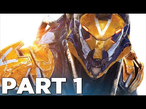 ANTHEM Walkthrough Gameplay Part 1 - INTRO (Anthem Game)