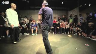 Tio vs Popkun / Round of 16 / Sway On The Beat Vol.1 / Allthatstreet