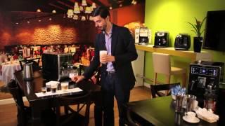 Кофемашина Philips Saeco - варим кофе(Видео демонстрация приготовления настоящего Эспрессо, Лунго, Капучино, Латте Макиато, кофе Латте, Ристретт..., 2014-04-09T14:05:45.000Z)
