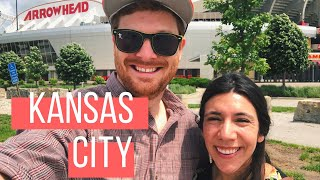 KANSAS CITY TRAVEL VLOG | Stadiums, Museums, & the BEST BBQ ever!