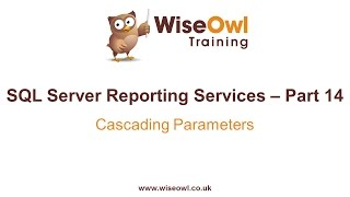 Reporting Services (SSRS) Part 14 - Cascading Parameters