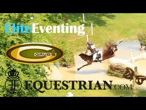 Elite Eventing | Cross Country Thrills and Spills 2013