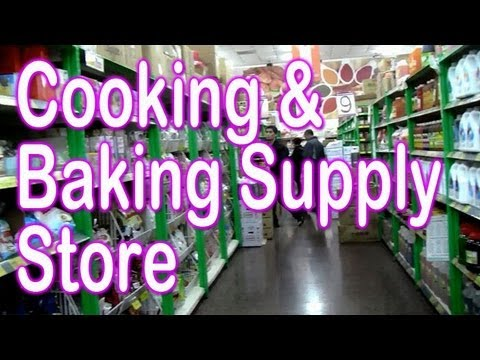 Cooking & Baking Supply store in Taipei