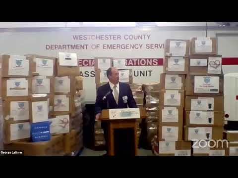 Westchester County Executive George Latimer offering the latest COVID-19 details as of Friday, April 24, 2020.