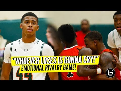 """These Big Games Are What I'm Built For!"" Chicago Morgan Park v Bogan: CRAZY RIVALRY GAME Highlights"