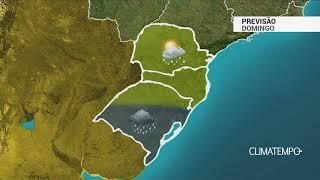 Previsão Sul – Alerta para temporais