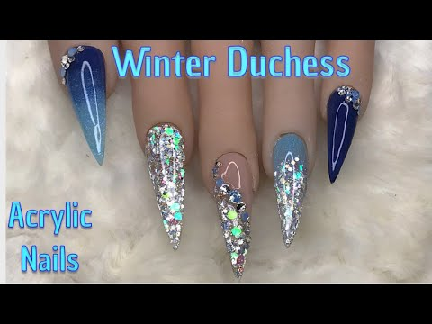 Winter Duchess | Acrylic Nails | Nails Sugar
