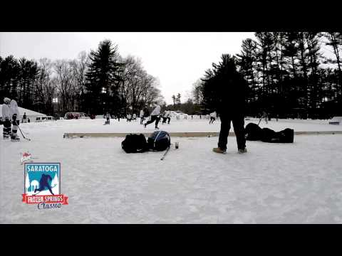 Labatt presents Saratoga Frozen Springs Classic Pond Hockey Weekend