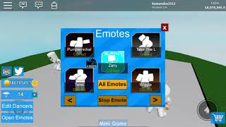 Giant Dance Off Simulator Roblox all dances