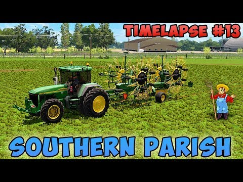 Farming simulator 17 | Southern Parish with Seasons | Timelapse #13 | Haymaking thumbnail