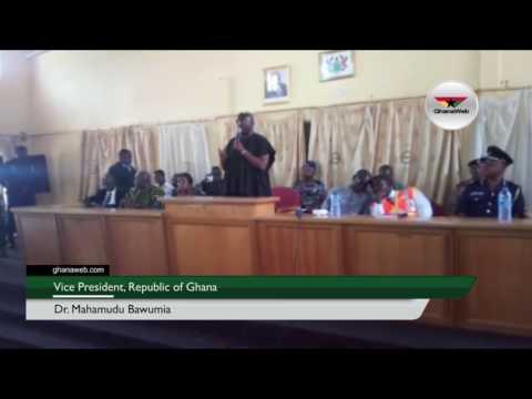 Vice President Bawumia describes Kintampo disaster as a 'tragic loss'