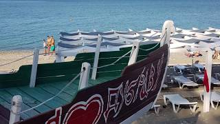 Де народ?! МАЛОЛЮДНИЙ пляж ''Дельфін'' в розпал сезону! Лазаревське, Сочі 4 серпня 2019
