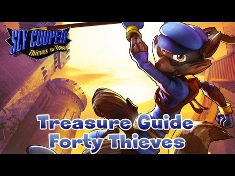 Sly Cooper: Thieves in Time - Treasure Locations Guide for Forty Thieves