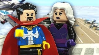 "LEGO Marvel Super Heroes ""Dr. Strange"" and ""Clea"" Custom Review"
