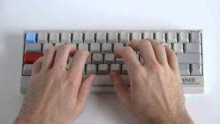 HHKB Type-S Typing Test (Silenced 45g Topre) - KeyChatter.com