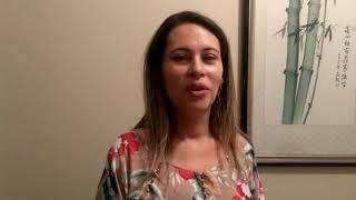 entrevista com a prefeita de so domingos do cariri, inara marinho, onde fala do mandato do senador