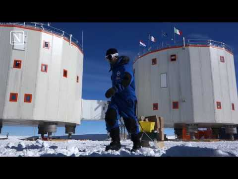 'Tien maanden isolement en kou op Zuidpool laat zijn sporen na'
