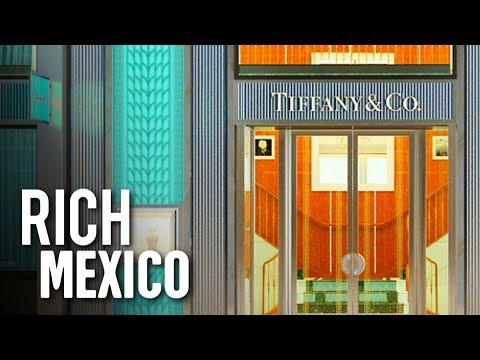 This is the RICHEST Street in Mexico City! | TOUR