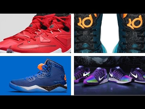"""LeBron 13 """"On Court"""" , KD 8 """"Road Game"""",  and more on the Heat Check"""