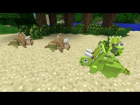 Minecraft Dinosaurs - Part 6 - Cocoa farms and Herding Chick