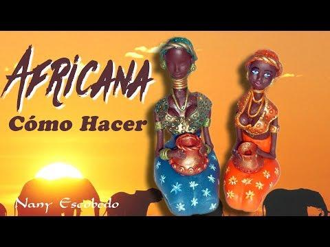 CÓMO HACER AFRICANA