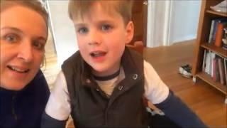 Английская няня обучает ребенка английскому языку