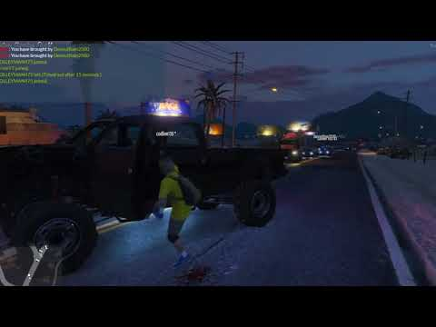 I was let of with a warning for WHAT?! - Grand Theft Auto 5 FiveM