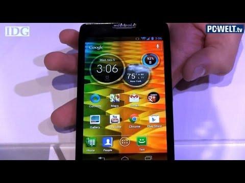 Motorola Razr HD - Produktvorstellung im Video