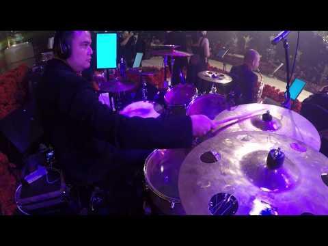 Candu Asmara - Marcell Siahaan LIVE (Drumcam)
