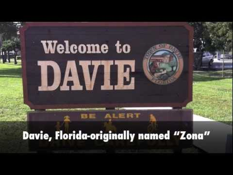 About Davie, Florida