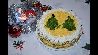 КАК ВКУСНО ПРИГОТОВИТЬ КУРИНУЮ ПЕЧЕНЬ. Печеночный торт из куриной печени со сметаной